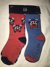 Gap Toddler Boy 4 Pack Firetruck Socks 2-3 Years Nwt