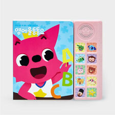 [PINKFONG] English Sound Book Children's Favorite 10 Songs Education Material