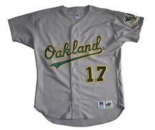 Oakland A's Athletics Russell Athletic Diamond Collection Authentic Jersey SZ 48
