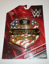 WWE United States Champion Kids Child Size Oversize Belt Buckle Plastic WWF