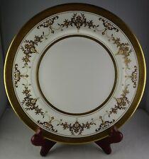 Minton K227 China Riverton Gold Encrusted Floral Dinner Plate