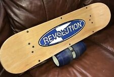 Vintage REVOLUTION  BALANCE BOARD, KTZ SPORTS SKATE SNOW Board TRAINING