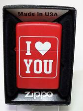 """Zippo """"I Love You"""" - NUEVO Y EMB. orig. - #889"""