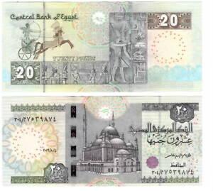 EGYPT 20 POUNDS 2016 P-74 UNC - Banknotes Paper Money