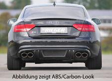 Rieger CUP Diffusor für Audi A5 B8 S5 S-Line Sportback Heckansatz Ansatz 115x85