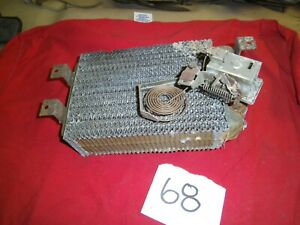 1957 1958 59 FORD GALAXY SKYLINER RETRACTABLE FAIRLANE HEATER CORE PROJECT CORE