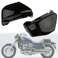 Battery Side Fairing Covers Black fit For Honda Magna VF750 VF750C 1994-2004