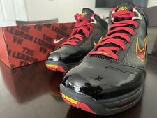 Nike LeBron 7 VII QS Fairfax 2020 Black Red Size 11 Basketball Shoes CU5646-001