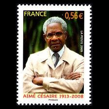 """France 2009 - Aimé Césaire """"1913-2008"""" - Sc 3633 MNH"""
