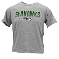 Seattle Seahawks Official NFL Youth Kids Size Athletic T-Shirt New With Tags