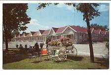 Vintage Postcard London Ontario Canada White Village Motel 1739 Dundas St
