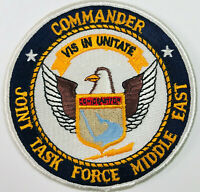 Commander Joint Task Force Middle East US Navy United States Military Patch 4""