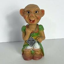 "Vintage Heico Original Troll Bobblehead Nodder West Germany 6"""