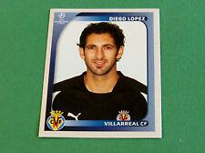 520 DIEGO LOPEZ VILLARREAL CF UEFA PANINI FOOTBALL CHAMPIONS LEAGUE 2008 2009