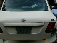 Saab 9-3 2003-2011   trunk lid decklid  sedan white PORTLAND OREGON PICKUP ONLY