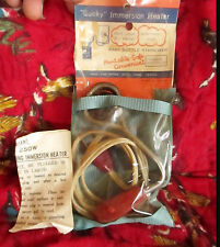 Vintage  50s Quicky Baby Bottles Immersion Heater Sterilizer w/Manual & Case