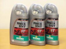 15,10€/l Motorex Power Synt 4T 10W/50  3 x 1 L vollsyn Premium 4Taktöl