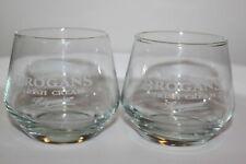 2x Brogans Irish Cream liquour Gläser - RARE - selten
