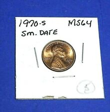 1970-S SMALL DATE VARIETY BU UNCIRCULATED LINCOLN CENT (1c) U-GRADE BUY IT 5/6