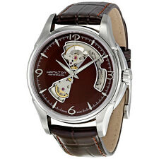 Hamilton Jazzmaster Brown Leather Mens Automatic Watch H32565595-AU