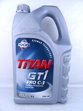 Fuchs Titan GT1 Pro C3 5W30 BMW LL 04 VW 50400 50700 MB XTL Technology 5Liter