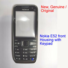 100% Genuine New Original Nokia E52 Front Fascia Housing + Keypad - Black