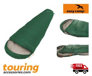 Easy Camp Cosmos Single Sleeping Bag Green - Outdoors - Camping - Summer -