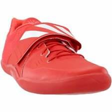 Adidas Adizero Discus Hammer Para hombre Zapatos tenis de correr-Rojo