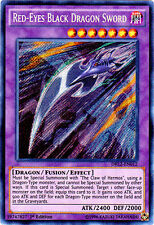 YUGIOH x 1 Red-Eyes Black Dragon Sword - DRL2-EN012 - Secret Rare - 1st Edition
