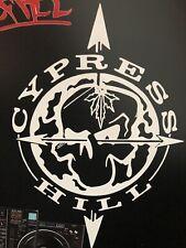 "Cypress Hill Sticker Decal, High Quality 6 Year Vinyl 8.5"" X 6""."