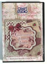My Craft Studio Elite CD Card Making Papercraft Quintessential Country Garden