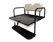 "Club Car DS (1982-Up) Golf Cart Rear ""Classic"" Flip Back Seat Kit Cargo Bed"