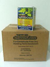 THETFORD SUPREME GREEN TOILET HOLDING TANK TREATMENT FOR PORTABLE TOILETS