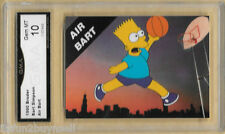 1990 Broder Bart Simpson Air Bart NNO Promo  Graded 10 GMA Gem MT