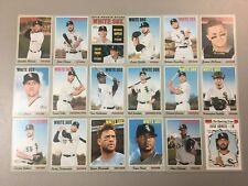 2019 Topps Heritage Chicago White Sox MASTER Team SP Insert Base set 18