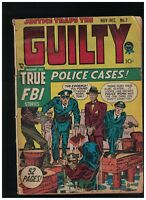 Justice Traps the Guilty #7 Simon & Kirby Pre-Code Crime