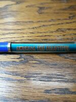 "America The Beautiful Floaty Pen Vintage Collectable 6"" Pen Made In Denmark  D2"