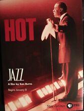 Vintage Postcard - Louis Armstrong - Ken Burns - Hot Jazz
