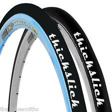 2-PACK WTB ThickSlick Black Sport 700 x 23c Freedom Road Bike Tires Long Wear