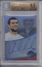 2012 Press Pass Power Pick Autograph Blue ANDREW LUCK  Colts #18/50 Graded 9.5