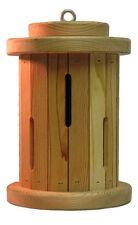 """10"""" Tall Round Butterfly House-Handmade USA-Wooden Garden Butterflies Habitat"""