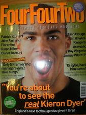 FOUR FOUR TWO MAGAZINE No 98 OCTOBER 2002 KIERON DYER