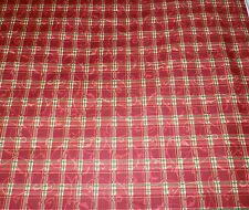 MAYWOOD STUDIOS  2 Yards FABRIC  Poinsettia with Metallic RED Quilting