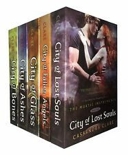 City of Bones Cassandra Clare Set 5 Books Collection Mortal Instruments Series