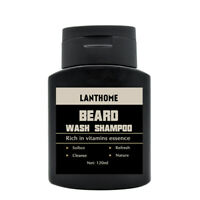 Lanthome Vitamin Wash Shampoo Hair Beard Care Men'S Gift Beard Assistance M V5R2