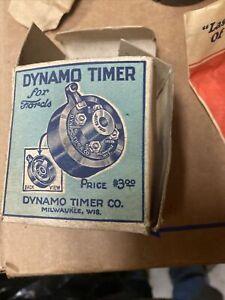 DYNAMO TIMER Model T Ford Vintage Antique Distributor Cap -NOS- Complete