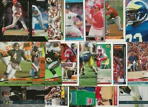 (40) Different 1992 University of Michigan Wolverines Alumni Cards Harbaugh