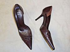 Arthur Muller  brown leather high heel shoe   Size 9
