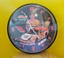 "Kellogg's Racing Nascar Terry LaBonte circular 12½"" diameter wall clock"
