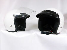Gloss Not Rated Thermo-Resin Open Face Motorcycle Helmets